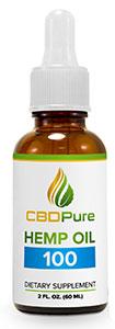 cbdpure hemp oil 100